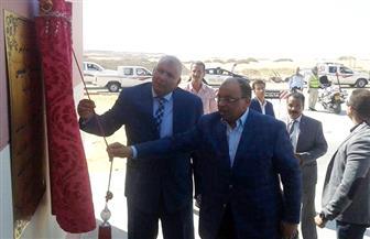 وزير التنمية المحلية يشهد أولى تجارب تدوير مخلفات النخيل بالوادي الجديد | صور
