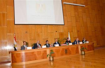 وزير الرياضة يفتتح ملتقى الشباب بجامعة أسيوط | صور