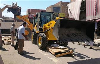 رفع  161 حالة إشغال بشوارع مدينة دراو بأسوان | صور