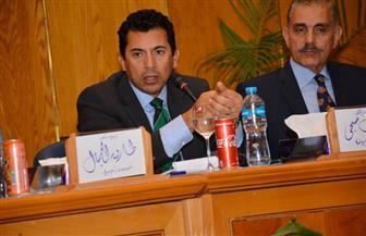 وزير الشباب والرياضة: أدعو الإعلام المصري إلى تناول الإيجابيات وزرع الأمل في النفوس | صور