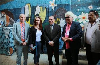 محافظ كفر الشيخ يشهد ختام فعاليات ملتقى البرلس الفنى الخامس للرسم على الحوائط والمراكب   صور