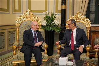 إطلاق برنامج الشراكة الإبداعية مع بريطانيا لدفع وتعزيز ريادة الأعمال لدى شباب مصر | صور