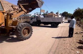 رفع 130 طن قمامة ومخلفات صلبة في حملة نظافة بدار السلام وساقلتة | صور