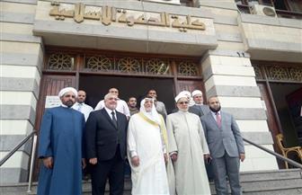 رئيس ديوان الوقف السني العراقي يثمن جهود الأزهر الشريف محليا وعالميا/ صور