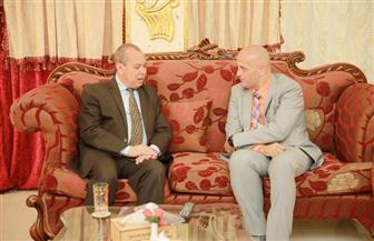 محافظ كفرالشيخ يبحث سبل التعاون المشترك مع رئيس صندوق الأمم المتحدة للسكان فيديو