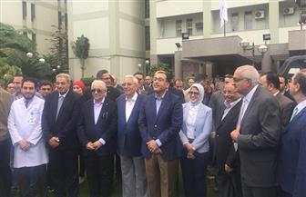 رئيس الوزراء يتفقد مستشفى الأطفال الجامعي التابع لجامعة المنصورة