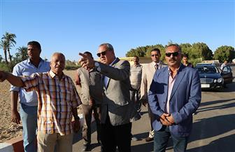محافظ قنا يتفقد مشروعات الأمن الغذائي بقرية المعنا | صور