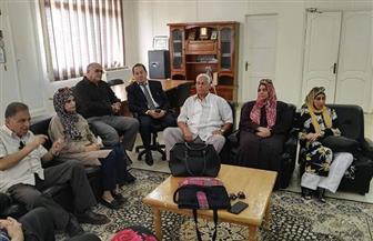 مدير عام الصحة بشمال سيناء يشرح خطة العمل خلال لقاء تعريفي بالصحفيين | صور