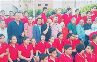 أندية كفر الشيخ تستقبل شوبير في دسوق وتعلن تأييدها له في انتخابات الجبلاية | صور