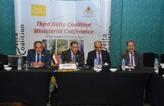 القاهرة تعرض أمام المؤتمر الوزاري لائتلاف الدلتاوات تجربتها للتكيف مع التغيرات المناخية