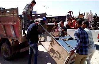 ضبط 183 مخالفة مرافق في حملة بسوهاج