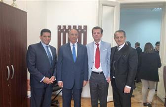 محافظ البحر الأحمر يلتقي رئيس جمعية الصداقة المصرية بالبرلمان الصربي |  صور