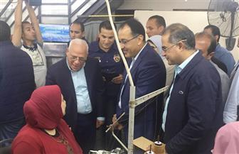 مدبولي يتفقد مركز خدمات المواطنين ببورسعيد