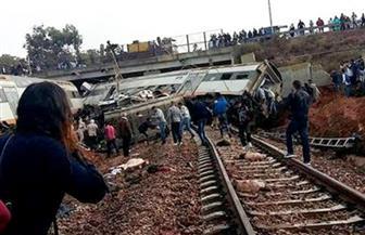 مقتل 4 وإصابة العشرات في خروج قطار عن القضبان قرب الرباط