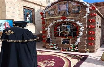 """البابا تواضروس يصل دير """"دميانة"""" بشكل مفاجئ.. ويزور مدفن """"الأنبا بيشوي"""""""