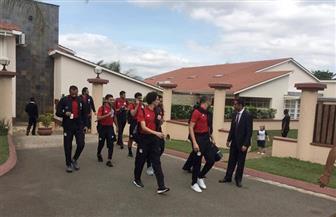 منتخب مصر يتحرك لملعب موفاسي بإي سوازيني | صور