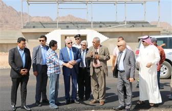 وزير الرياضة ومحافظ جنوب سيناء يتفقدان مضمار الهجن والمركز الدولي للمؤتمرات بشرم الشيخ| صور