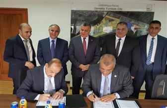 بنك التنمية الصناعية يوقع بروتوكولا لتمويل صناع الأثاث وصغار الحرفيين في دمياط| صور