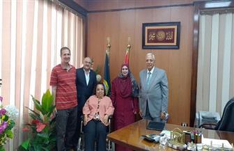 هبة هجرس تلتقي محافظ الدقهلية لمناقشة قضايا المرأة وذوي الإعاقة