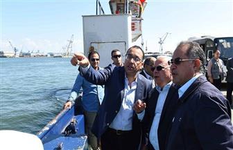 رئيس الوزراء في جولة حرة بمنطقة الاستزراع السمكي بشرق التفريعة