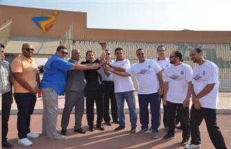 محافظة بني سويف تستقبل شعلة الدورة الرياضية العربية الثانية للاتحادات النوعية| صور