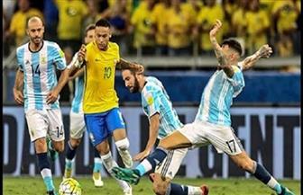 البرازيل بكامل نجومها أمام الأرجنتين