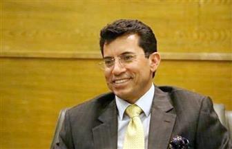 وزير الشباب يلتقي المشاركين في المنتدى العربي التاسع بمحطة مصر