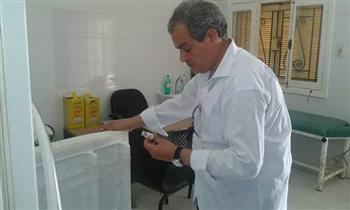وكيل وزارة الصحة بالبحر الأحمر يتفقد الوحدات الصحية بحلايب وأبورماد ورأس حدربة