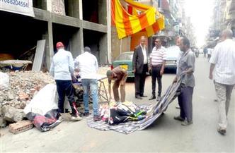حملة لإزالة الإشغالات والتعديات فى شوارع حى العرب ببورسعيد | صور