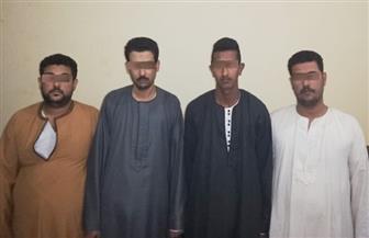 أمن قنا يضبط 4 متهمين باختطاف طفل في أبوتشت | صور