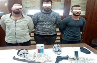 أمن الجيزة يضبط عصابة السطو المسلح على سلسلة محال بالدقي