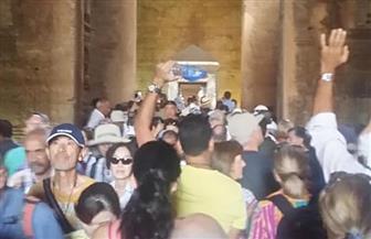 معبد إدفو يستقبل 3000 سائح من مختلف الجنسيات