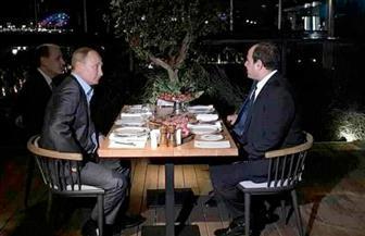 الرئيسان السيسي وبوتين يبحثان التعاون الاقتصادي وعودة الطيران الروسي إلى شرم الشيخ والغردقة