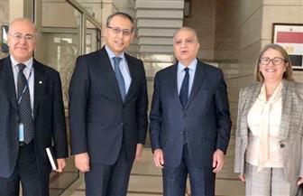 سفير مصر ببيروت يلتقي الأمين التنفيذي لمنظمة الإسكوا