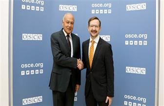 أبو الغيط يبحث التعاون المشترك مع سكرتير عام منظمة الأمن والتعاون في أوروبا