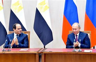 ننشر نص كلمة الرئيس السيسي في المؤتمر الصحفي مع نظيره الروسي