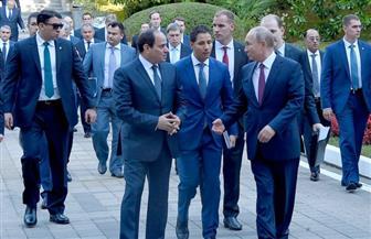 قمة سوتشي.. الرئيس السيسي: المباحثات تعكس روح التعاون.. وبوتين: العلاقات تتطور بنجاح