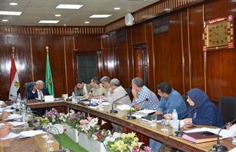 محافظ الدقهلية يشكل لجنة لدراسة حالة الطرق بالمحافظة ورفع كفاءتها