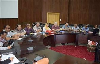 محافظة البحر الأحمر تناقش موقف تقنين وضع اليد على أراضي الدولة