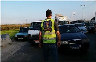 """""""مباحث الضرائب والرسوم"""" تضبط 20 سيارة مخالفة لشروط الإفراج الجمركي"""