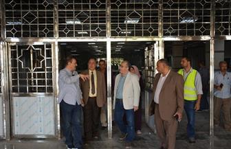 رئيس المترو والعضو المنتدب يتفقدان أعمال تطوير محطة المرج الجديدة   صور