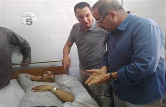 محافظ المنوفية يوجه بمتابعة حادث التصادم بمدخل مدينة السادات | صور
