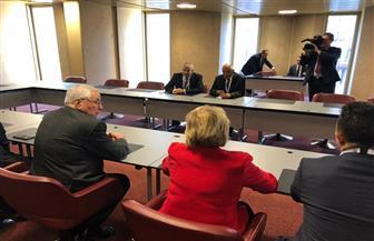 عبدالعال يلتقي رئيس مجلس الأمة الجزائري على هامش اجتماعات الاتحاد البرلماني الدولي