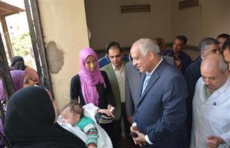 محافظ الجيزة: تشغيل العناية المركزة بعد توقف 7 سنوات بمستشفى أبو النمرس | صور