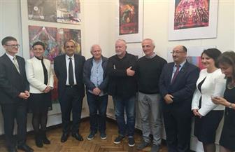 السفير المصري في بولندا يفتتح معرضا فنيا مصريا بأكاديمية الفنون الجميلة بوارسو| صور