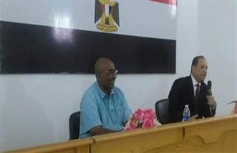 نائب محافظ أسوان يلتقي بأهالي أبوسمبل