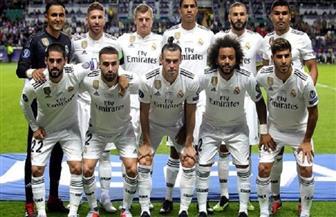 فريق مدرب منتخب مصر السابق يستقبل ريال مدريد بممر شرفي