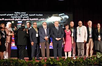 رئيس جامعة القاهرة: المسرح ضرورة لاقتحام عقول الشباب لمواجهة الأفكار المتطرفة| صور