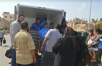 """ضبط سيارتين لبيع منتجات غذائية منتهية الصلاحية تحمل شعار """"تحيا مصر"""" مزور"""