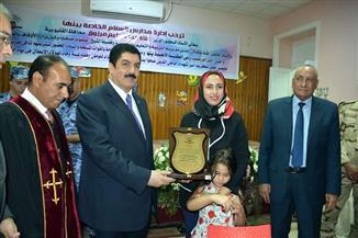 محافظة القليوبية تكرم أسر الشهداء بمناسبة احتفالات انتصارات أكتوبر